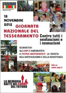 Basta fascismo, mi iscrivo all'Anpi! Domenica anche in Sardegna la giornata del tesseramento all'associazione antifascista!